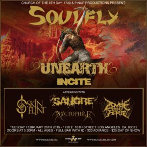 Soulfly Sangre 2019
