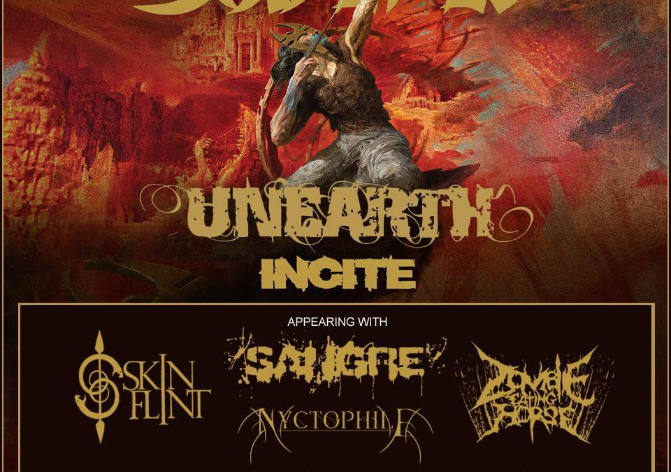 Soulfly / Unearth / Incite / Skin Flint / Sangre + More @ 1720