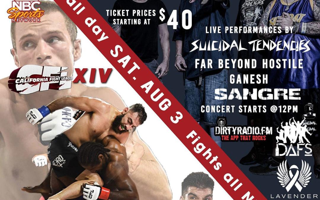 ROCK'N MMA FEST w/ Suicidal Tendencies