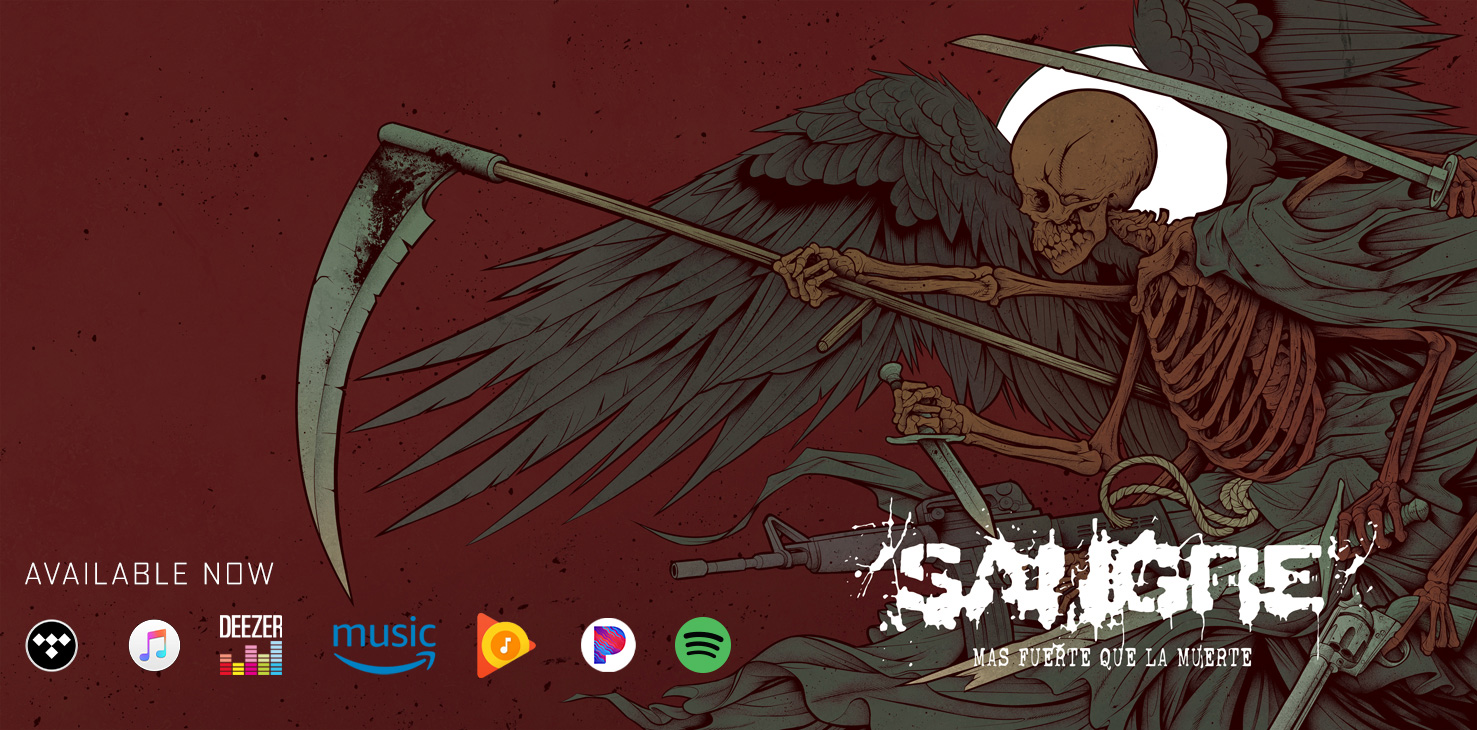 Mas Fuerte Que La Muerte album by SANGRE